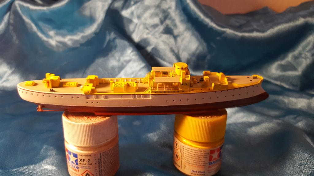 canonnière SMS Iltis 1898 scratch 1/350 20190910