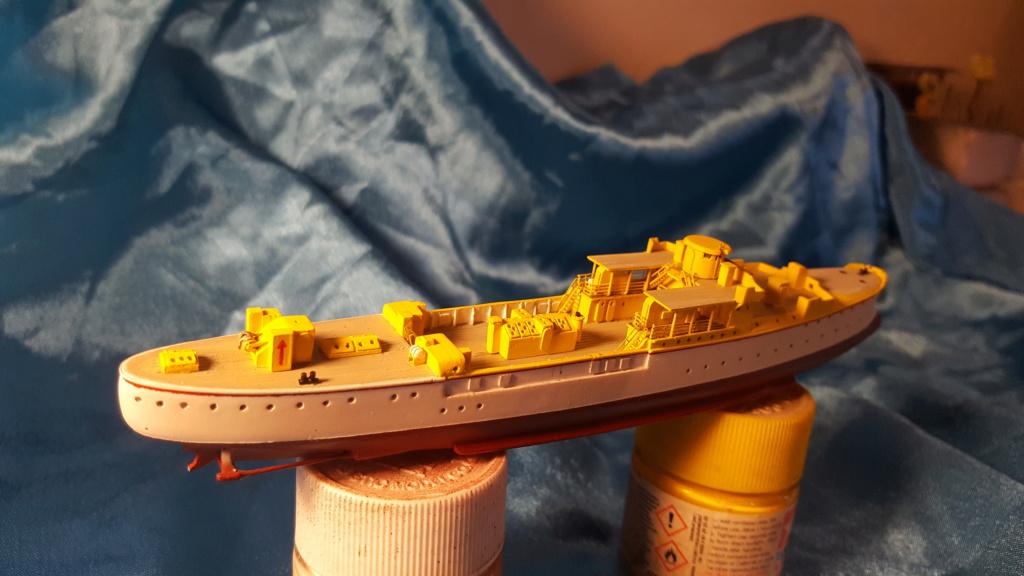 canonnière SMS Iltis 1898 scratch 1/350 20190911