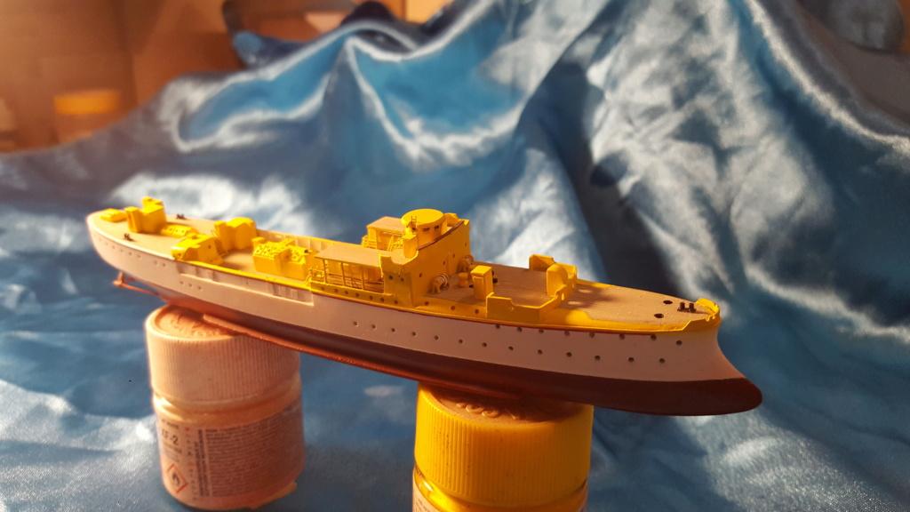 canonnière SMS Iltis 1898 scratch 1/350 20190912