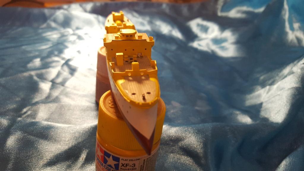 canonnière SMS Iltis 1898 scratch 1/350 20190913