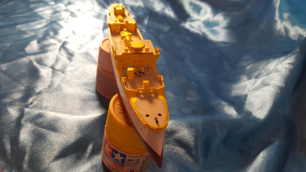 canonnière SMS Iltis 1898 scratch 1/350 20190914