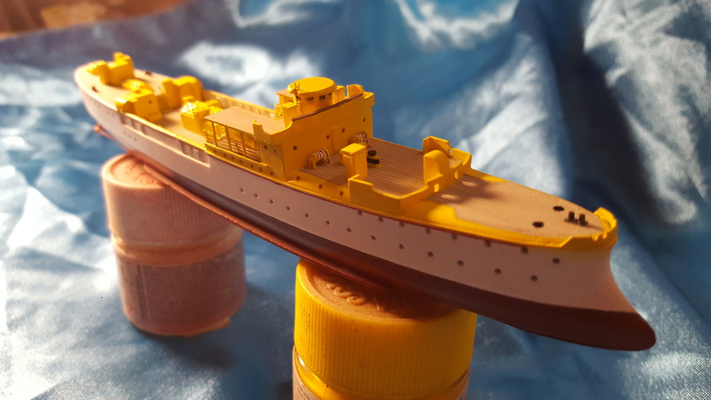 canonnière SMS Iltis 1898 scratch 1/350 20190915