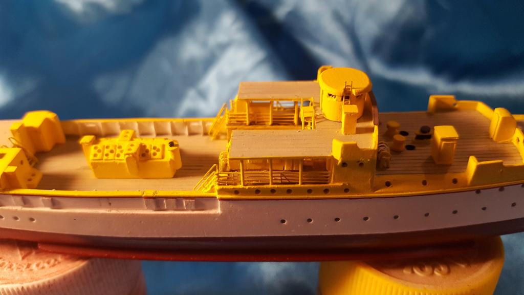 canonnière SMS Iltis 1898 scratch 1/350 20190916