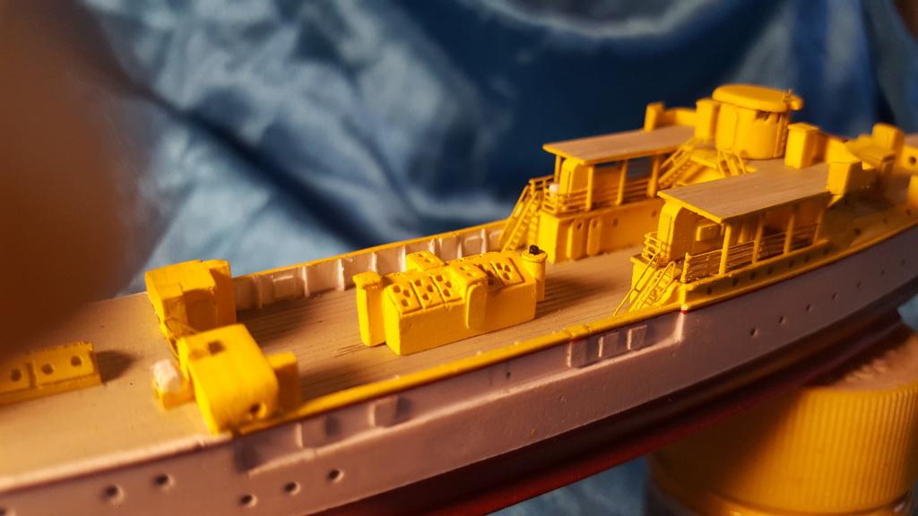 canonnière SMS Iltis 1898 scratch 1/350 20190917