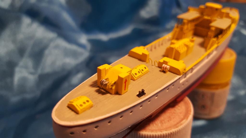 canonnière SMS Iltis 1898 scratch 1/350 20190918