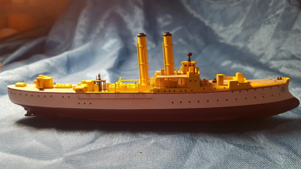 canonnière SMS Iltis 1898 scratch 1/350 - Page 2 20190923