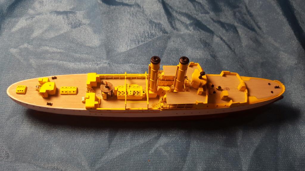 canonnière SMS Iltis 1898 scratch 1/350 - Page 2 20190924
