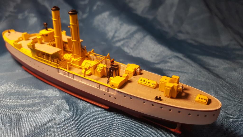 canonnière SMS Iltis 1898 scratch 1/350 - Page 2 20190925