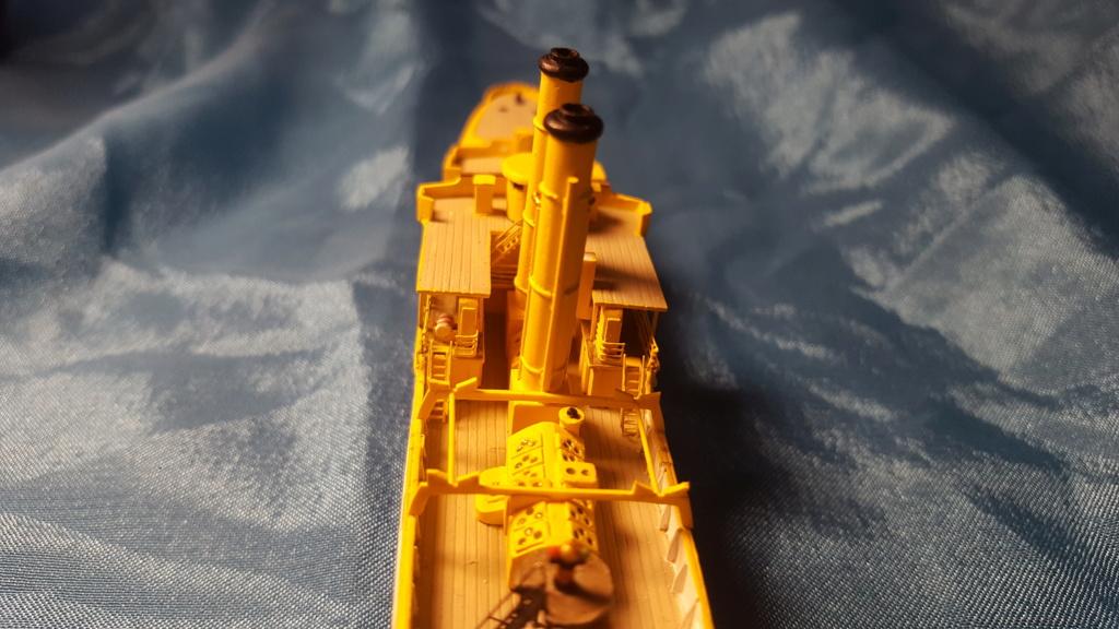 canonnière SMS Iltis 1898 scratch 1/350 - Page 2 20190926