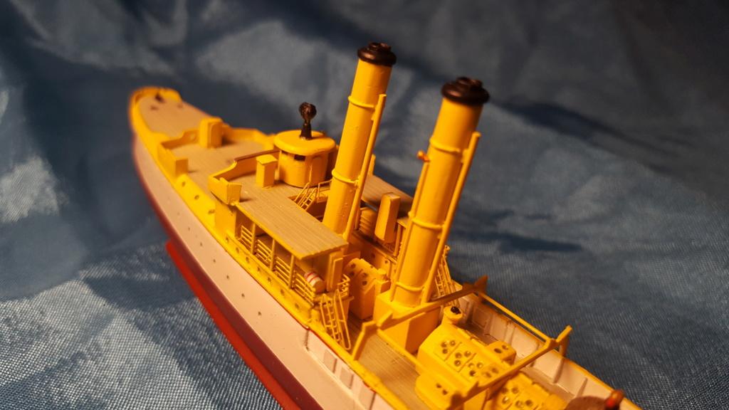 canonnière SMS Iltis 1898 scratch 1/350 - Page 2 20190927