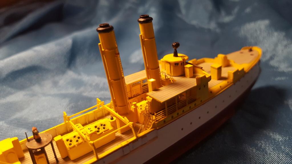 canonnière SMS Iltis 1898 scratch 1/350 - Page 2 20190928