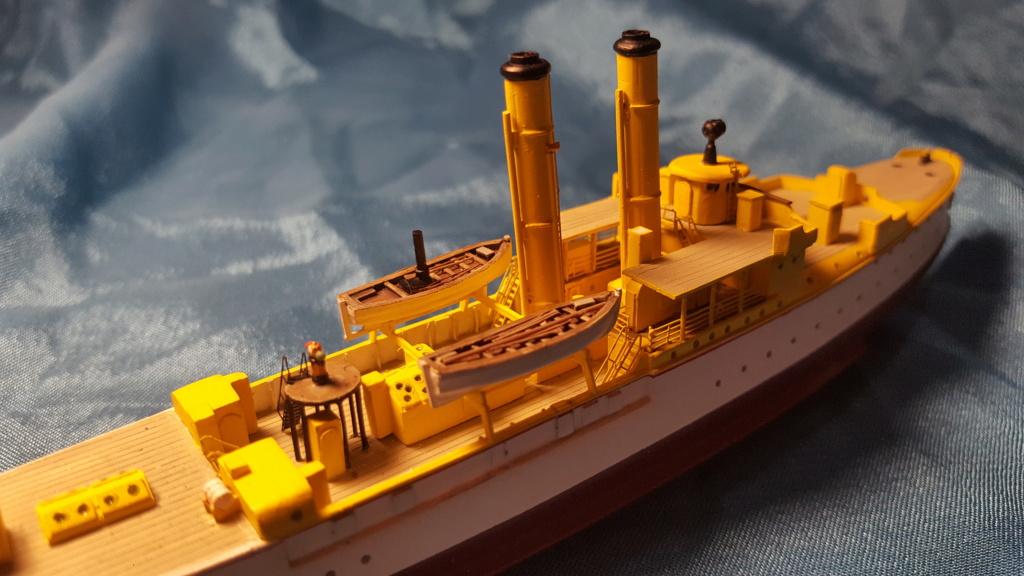 canonnière SMS Iltis 1898 scratch 1/350 - Page 2 20190929