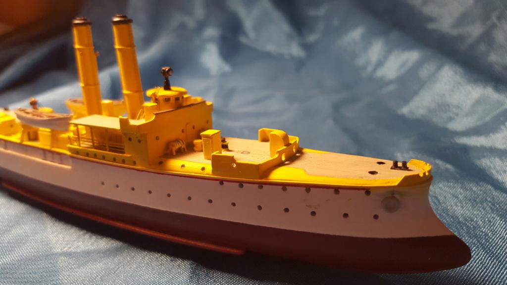 canonnière SMS Iltis 1898 scratch 1/350 - Page 2 20190930