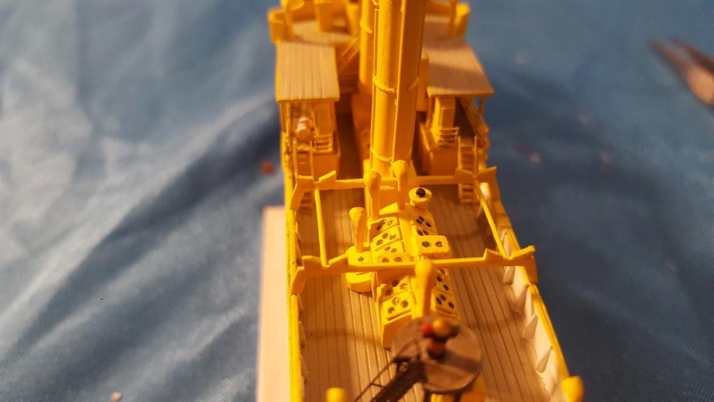 canonnière SMS Iltis 1898 scratch 1/350 - Page 3 20190936