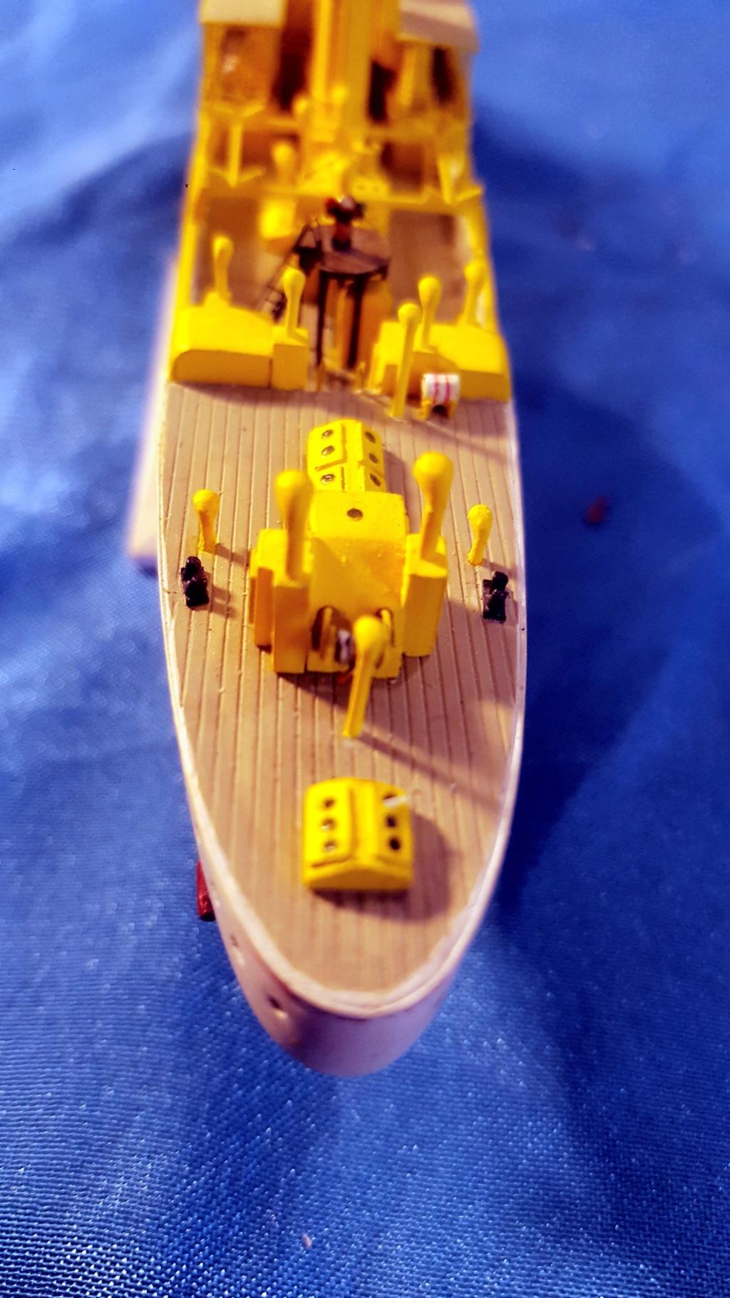 canonnière SMS Iltis 1898 scratch 1/350 - Page 3 20190937