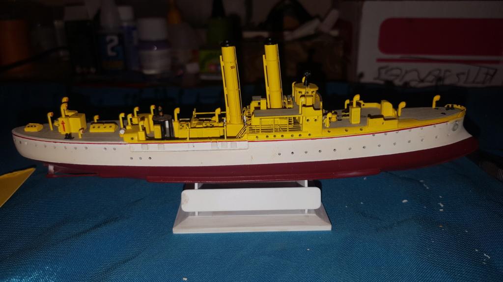 canonnière SMS Iltis 1898 scratch 1/350 - Page 3 20190939