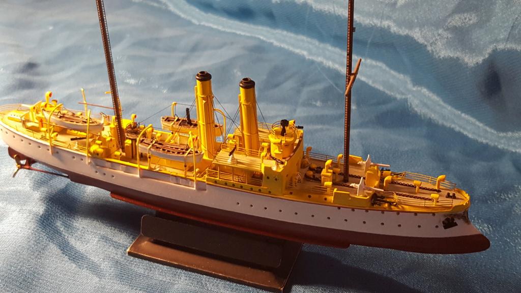 canonnière SMS Iltis 1898 scratch 1/350 - Page 3 20190941