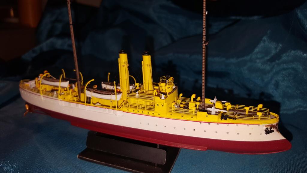canonnière SMS Iltis 1898 scratch 1/350 - Page 3 20190942