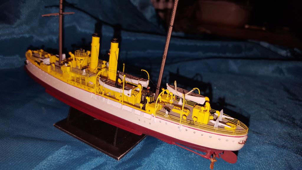 canonnière SMS Iltis 1898 scratch 1/350 - Page 3 20190943