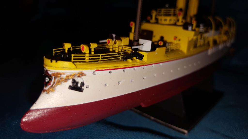 canonnière SMS Iltis 1898 scratch 1/350 - Page 3 20190944