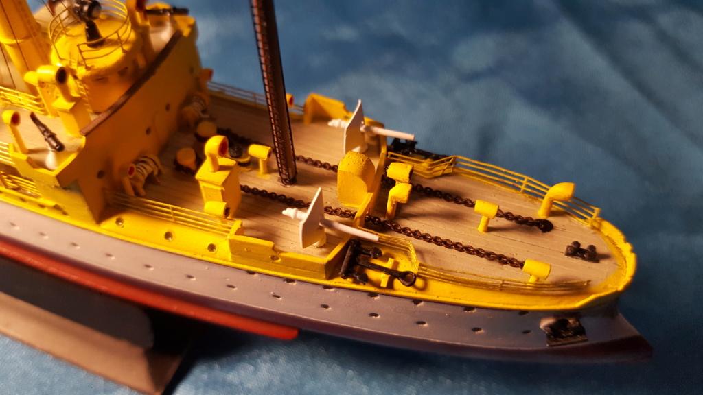 canonnière SMS Iltis 1898 scratch 1/350 - Page 3 20190945