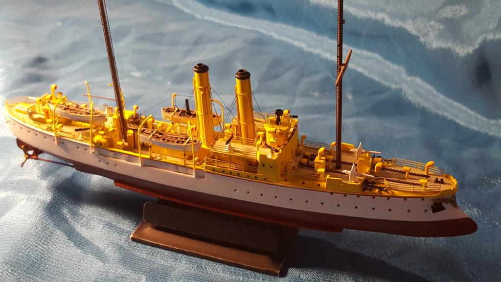 canonnière SMS Iltis 1898 scratch 1/350 - Page 3 20190947