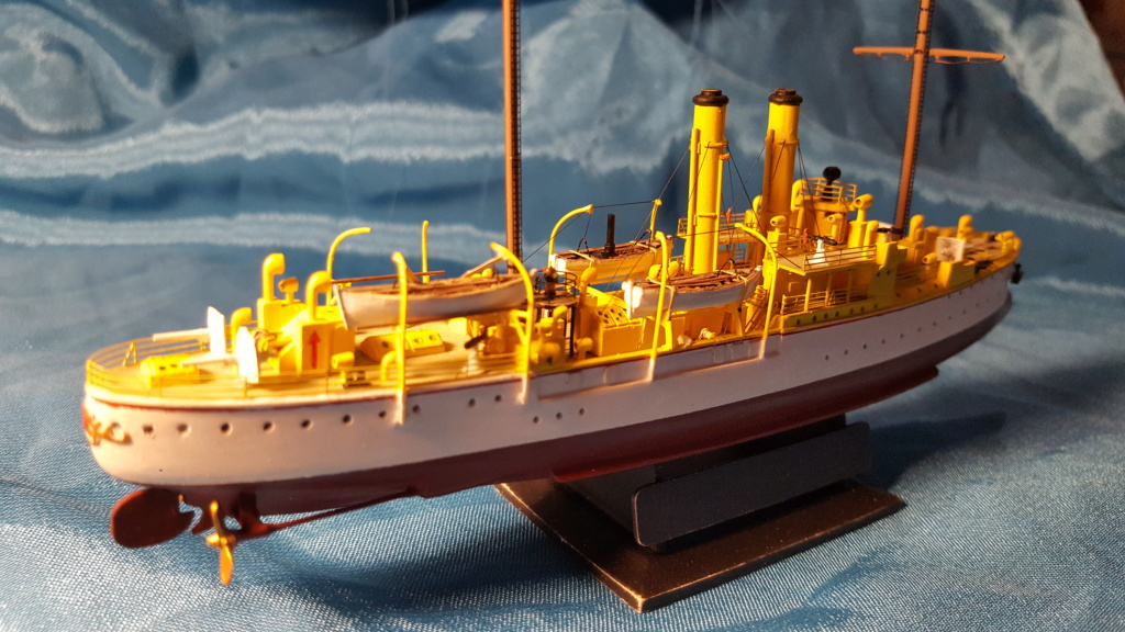 canonnière SMS Iltis 1898 scratch 1/350 - Page 3 20190948