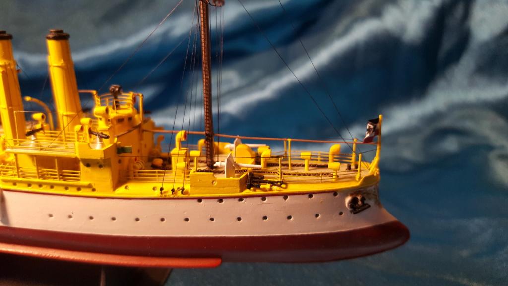 canonnière SMS Iltis 1898 scratch 1/350 - Page 4 20191010