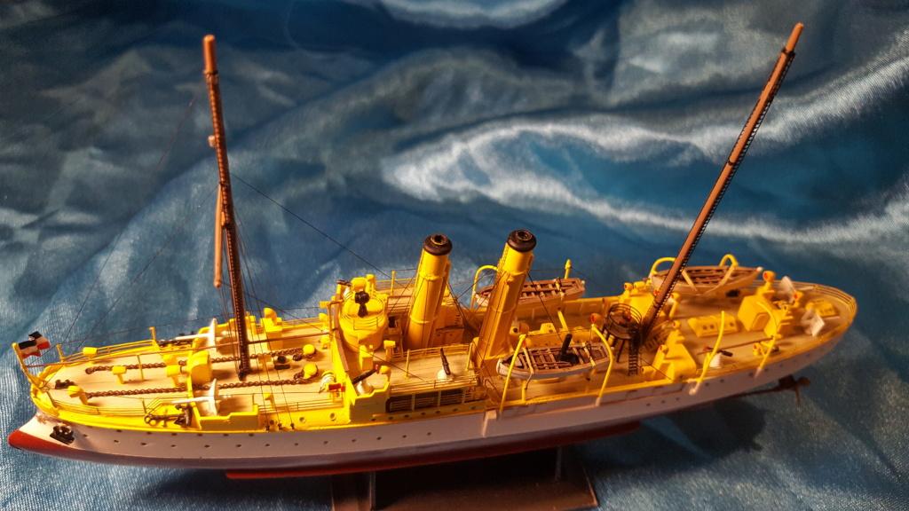 canonnière SMS Iltis 1898 scratch 1/350 - Page 4 20191011
