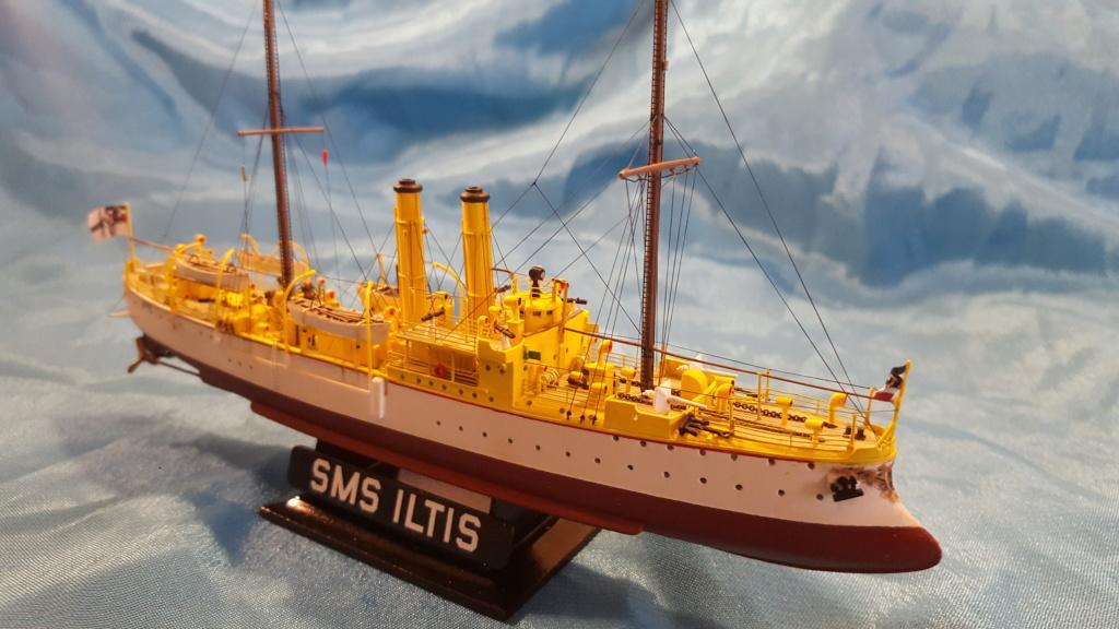 canonnière SMS Iltis 1898 scratch 1/350 - Page 4 20191012