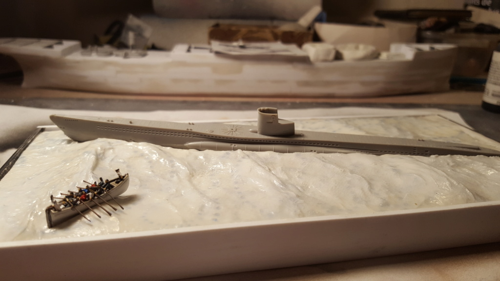 U-boot type VII A 1/350 hobby boss ( diorama ) 20200112
