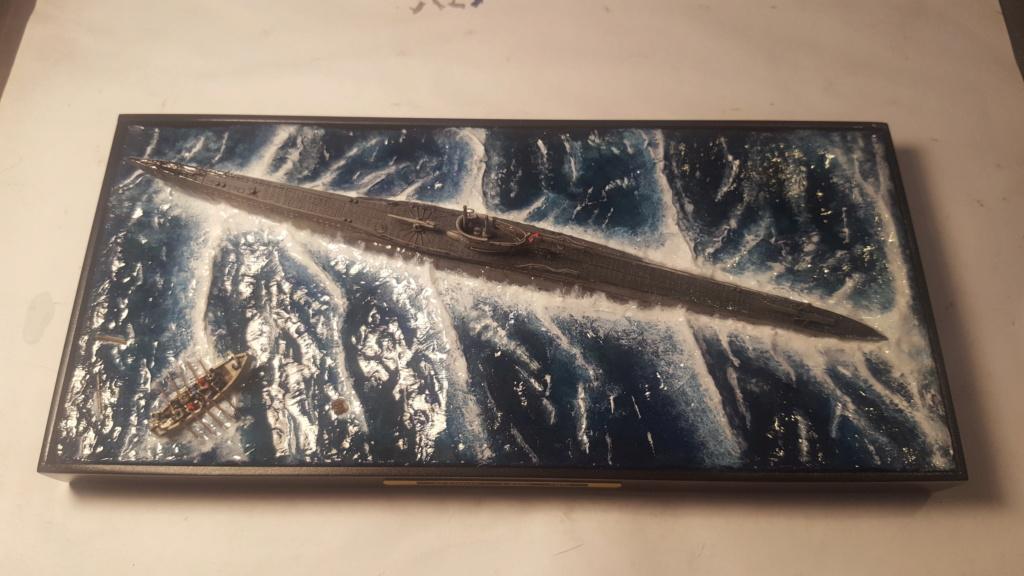U-boot type VII A 1/350 hobby boss ( diorama ) 20200114