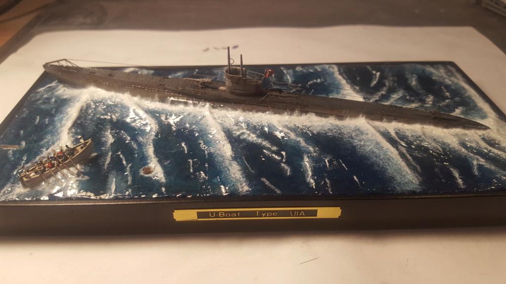 U-boot type VII A 1/350 hobby boss ( diorama ) 20200115