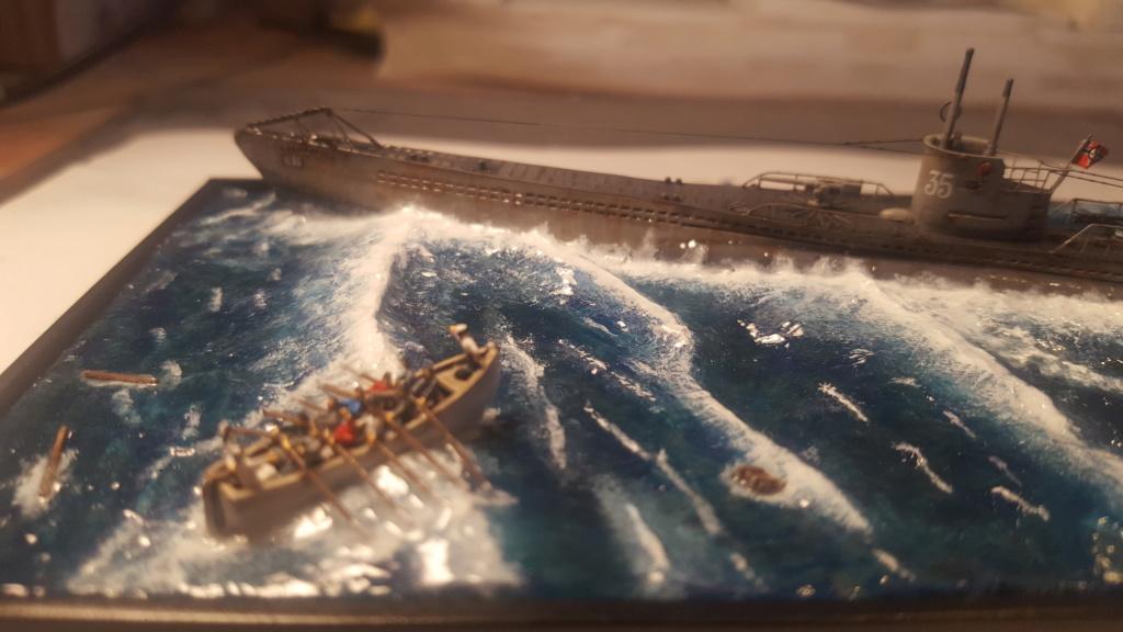 U-boot type VII A 1/350 hobby boss ( diorama ) 20200116