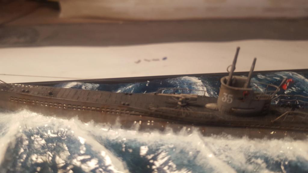 U-boot type VII A 1/350 hobby boss ( diorama ) 20200117