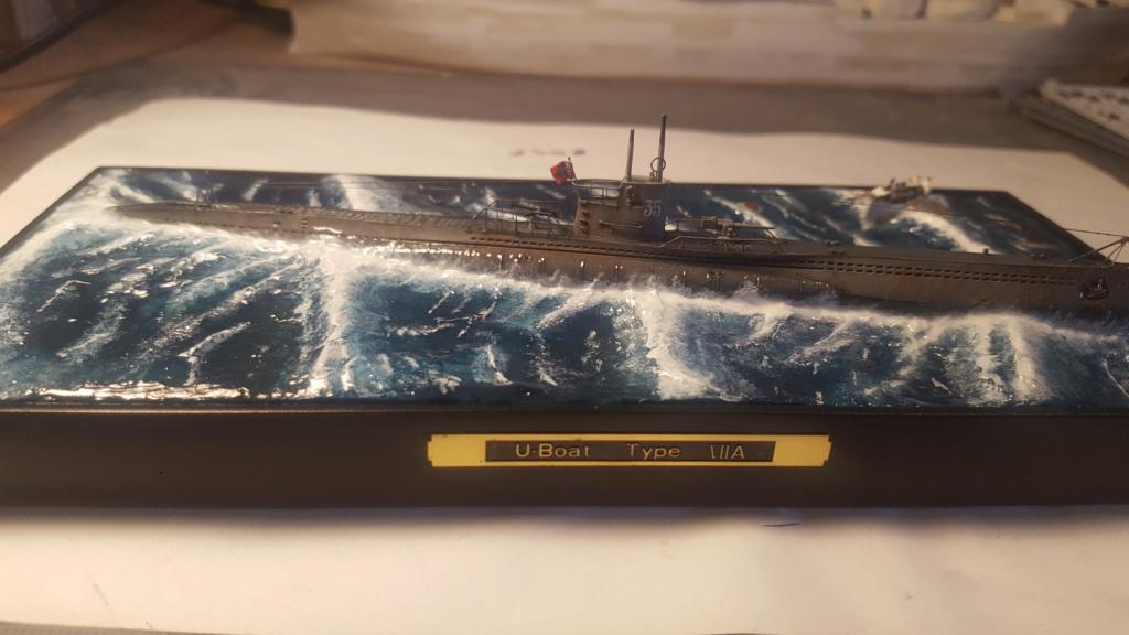 U-boot type VII A 1/350 hobby boss ( diorama ) 20200118