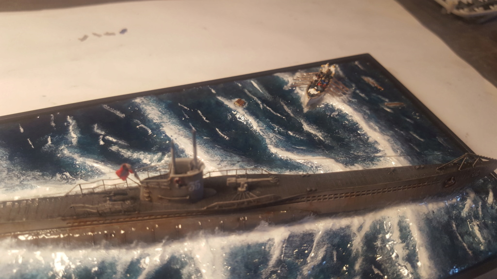 U-boot type VII A 1/350 hobby boss ( diorama ) 20200121