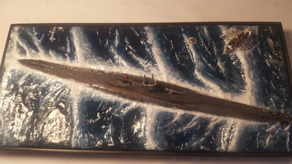U-boot type VII A 1/350 hobby boss ( diorama ) 20200122