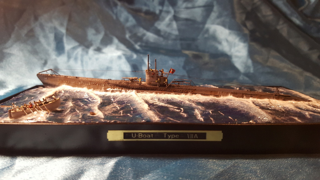U-boot type VII A 1/350 hobby boss ( diorama ) 20200123