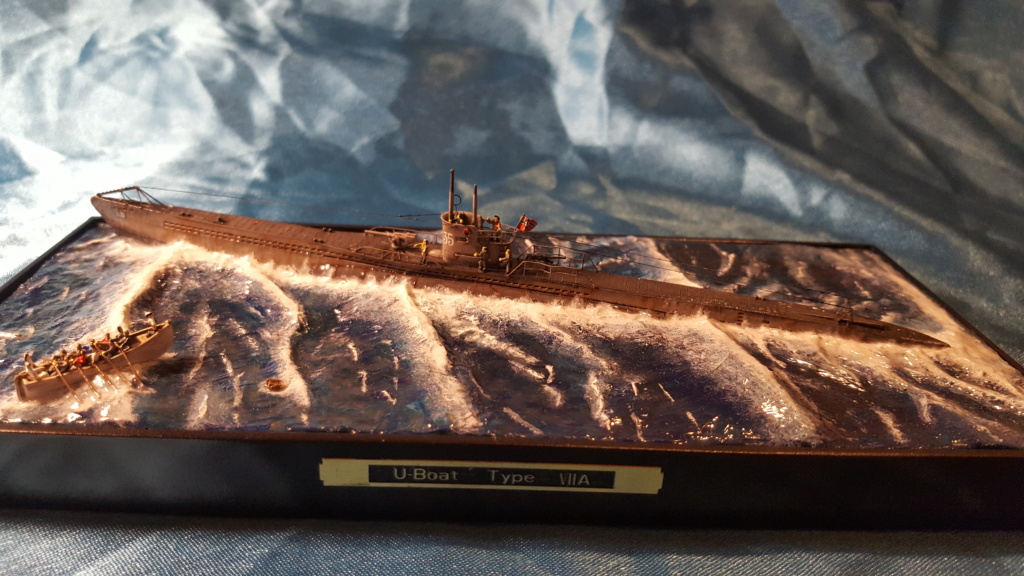 U-boot type VII A 1/350 hobby boss ( diorama ) 20200124