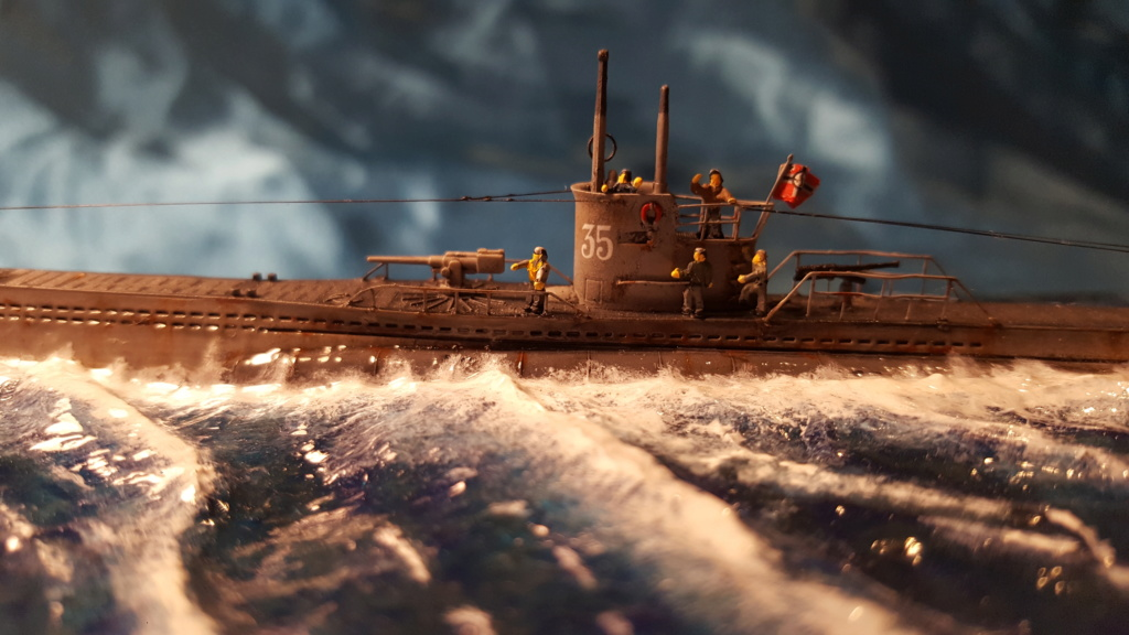 U-boot type VII A 1/350 hobby boss ( diorama ) 20200125