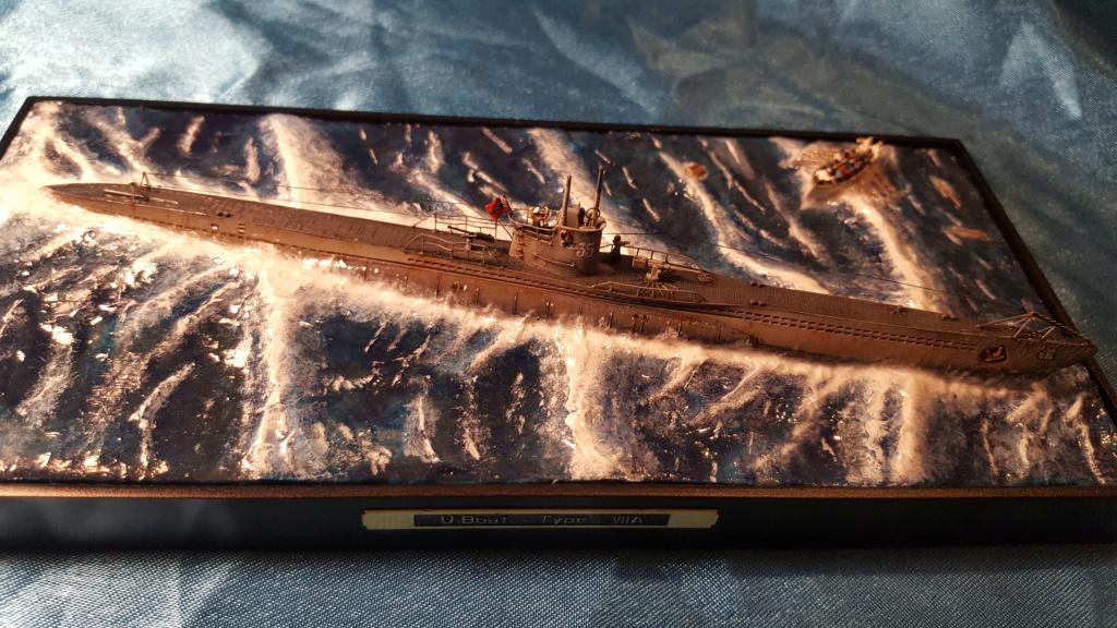 U-boot type VII A 1/350 hobby boss ( diorama ) 20200126
