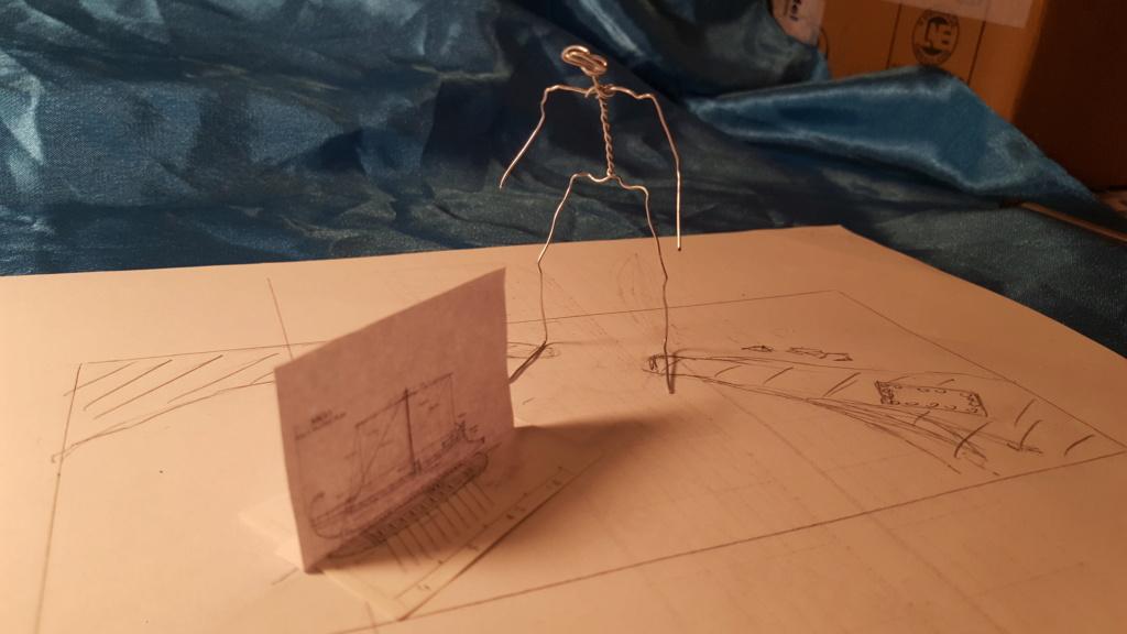 jason et les argonautes 1/350 projet diorama 20200128