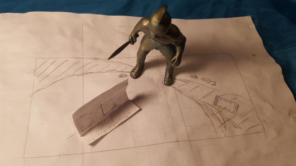 jason et les argonautes 1/350 projet diorama 20200141