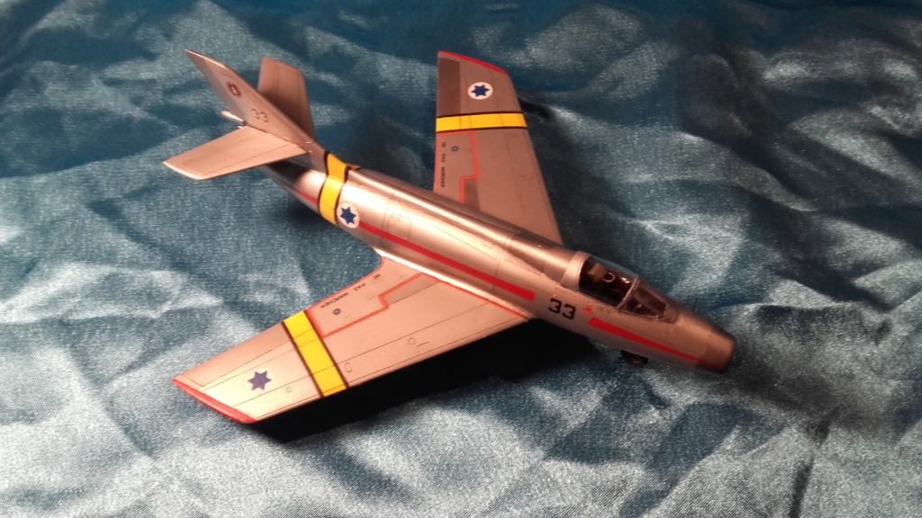 mystere IV azur from 1/72 20200610