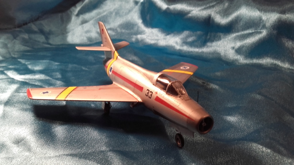 mystere IV azur from 1/72 20200611