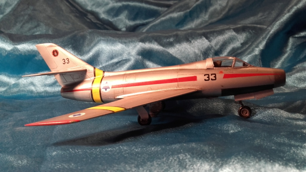 mystere IV azur from 1/72 20200612