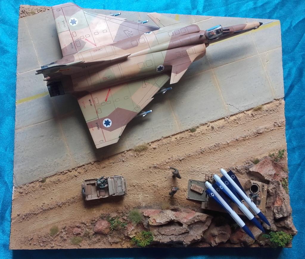 diorama what-if super kfir et M113 Hawk 1/172 italéri scratch 20211196