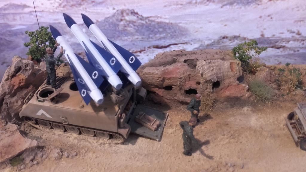 diorama what-if super kfir et M113 Hawk 1/172 italéri scratch 20211197