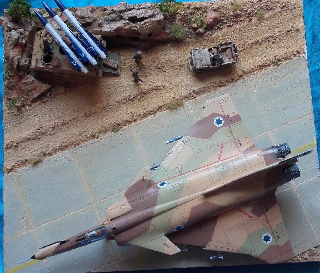 diorama what-if super kfir et M113 Hawk 1/172 italéri scratch 20211199